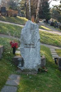 Hayek grób